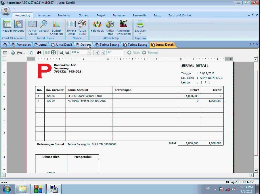 Tutorial Setting Account Hutang Akuntansi Pada Software Kontraktor Gratis Accounting Gratis Software
