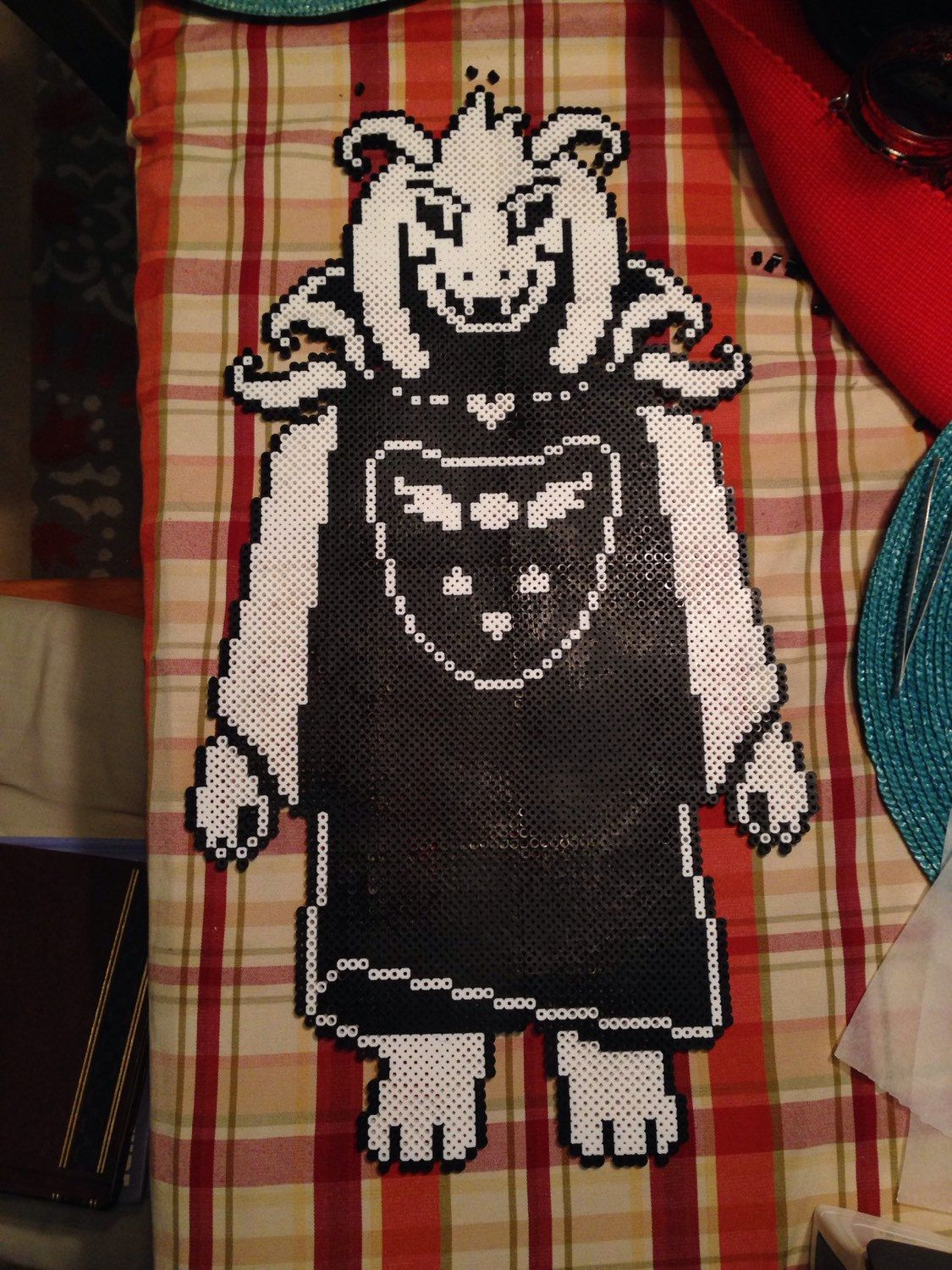 Asriel Dreemur Undertale Perler Beads By Perlerpixeldesigns