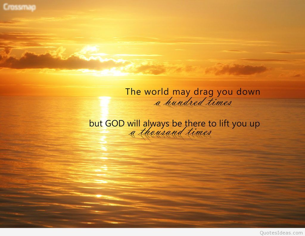 God Quote Quotes #words Hold Us Down But #god #lifts Us Up #burdens #faith .