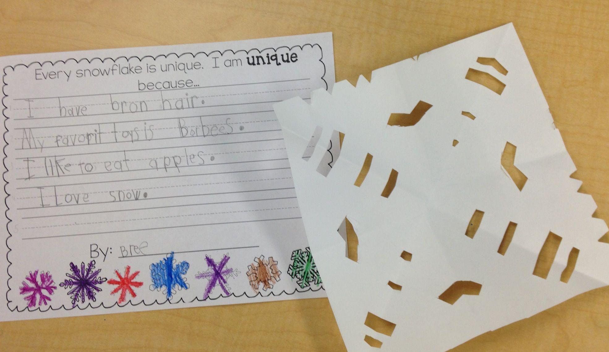 Snowflake Writing Prompt