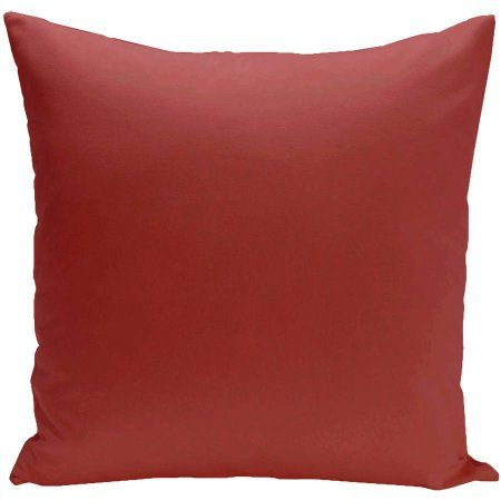 "Simply Daisy 16"" x 16"" Solid color Decorative Outdoor Pillow - Walmart.com"