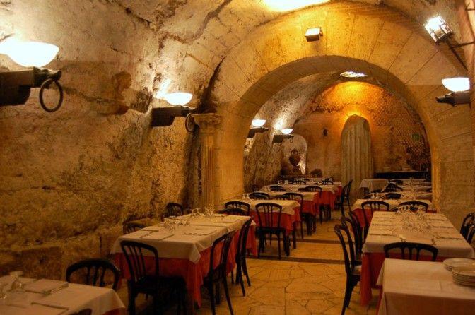 Historic Dining Ristorante Da Pancrazio Rome Italy