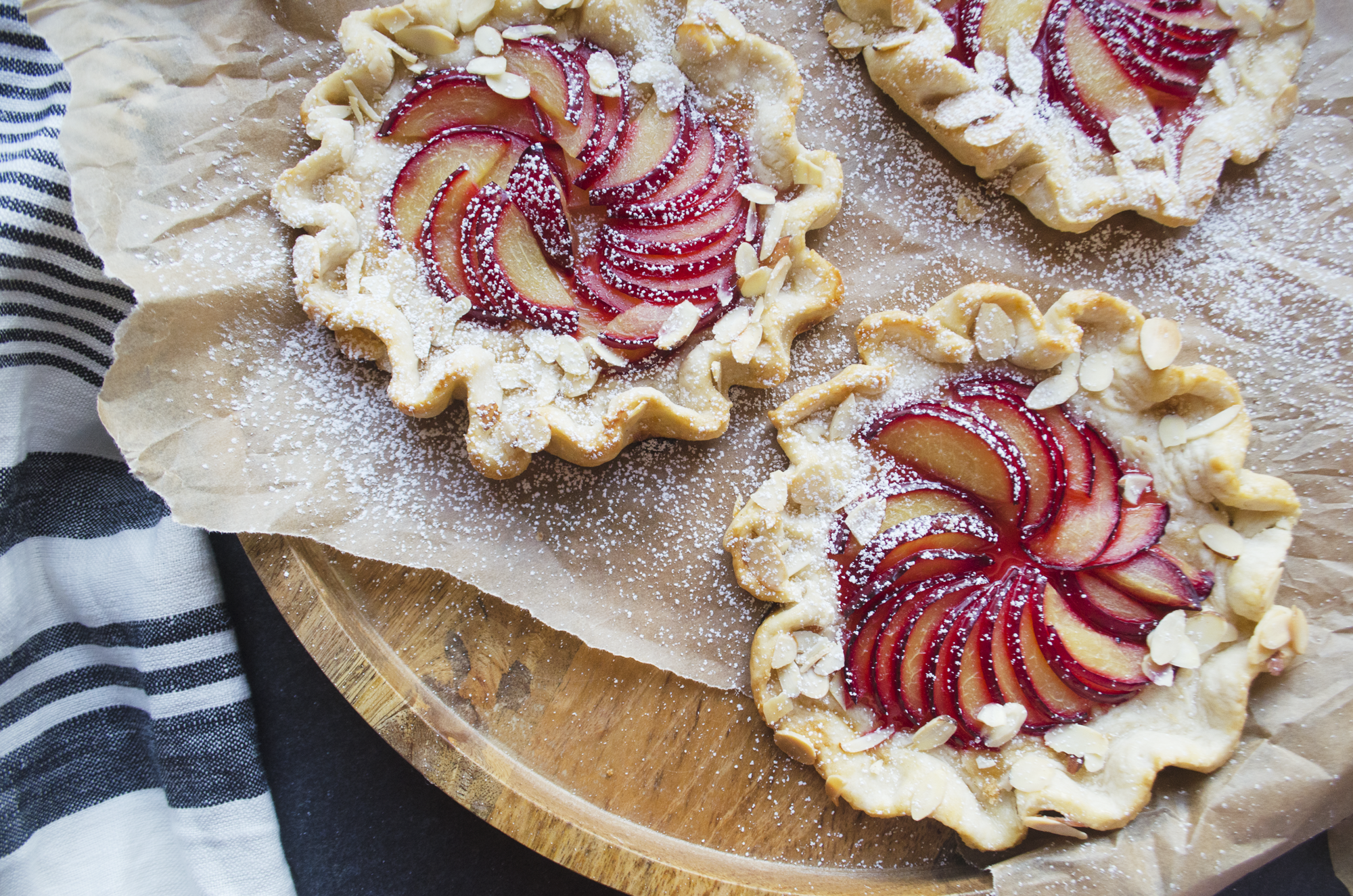 """Galette – a very fancy word for a very easy dessert. The definition of """"galette"""" simply refers to a freeform tart or pie, and it is the perfect unfussy summer dessert. For how lov…"""
