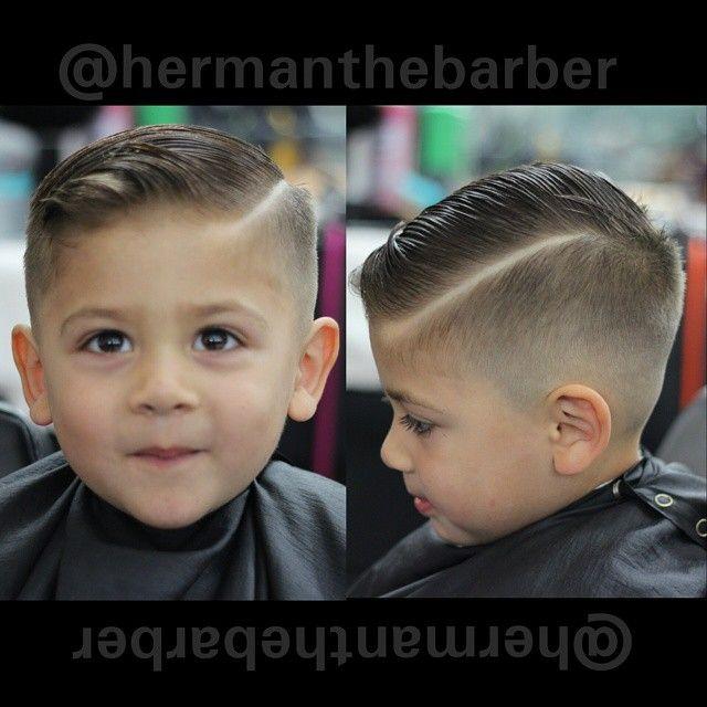 Slick Haircut With A Quiff Boys Haircuts Toddler Haircuts Toddler Boy Haircut Fine Hair
