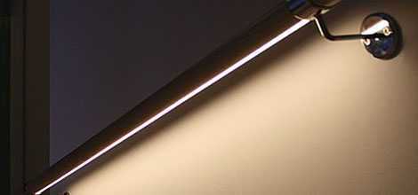 Best Led Under Lit Handrail Awesome Handrail Lighting 640 x 480