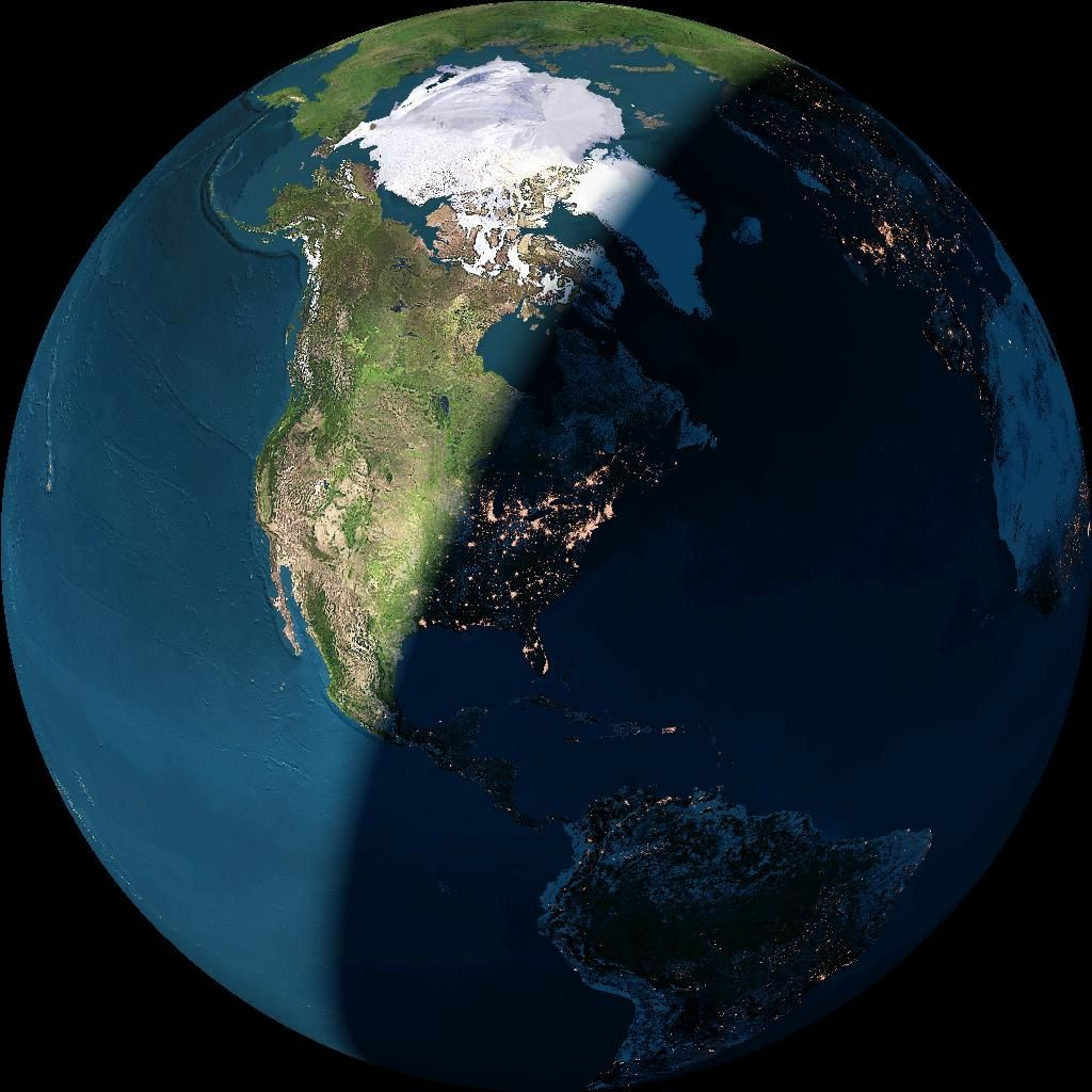 Earth Sciences: Great Pic For Teaching About The Sun And Earth, Day And