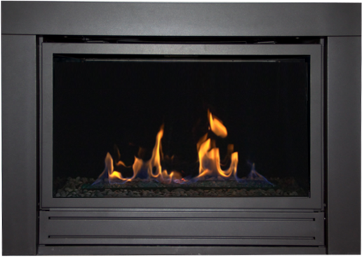 Replacing a B-vent with a direct vent gas fireplace very easily.  Brochure Brochure Complete Manual for ABR19 Manual