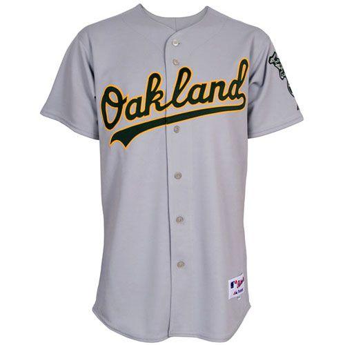 ddd1659618c Oakland Athletics Authentic Road Jersey - MLB.com Shop