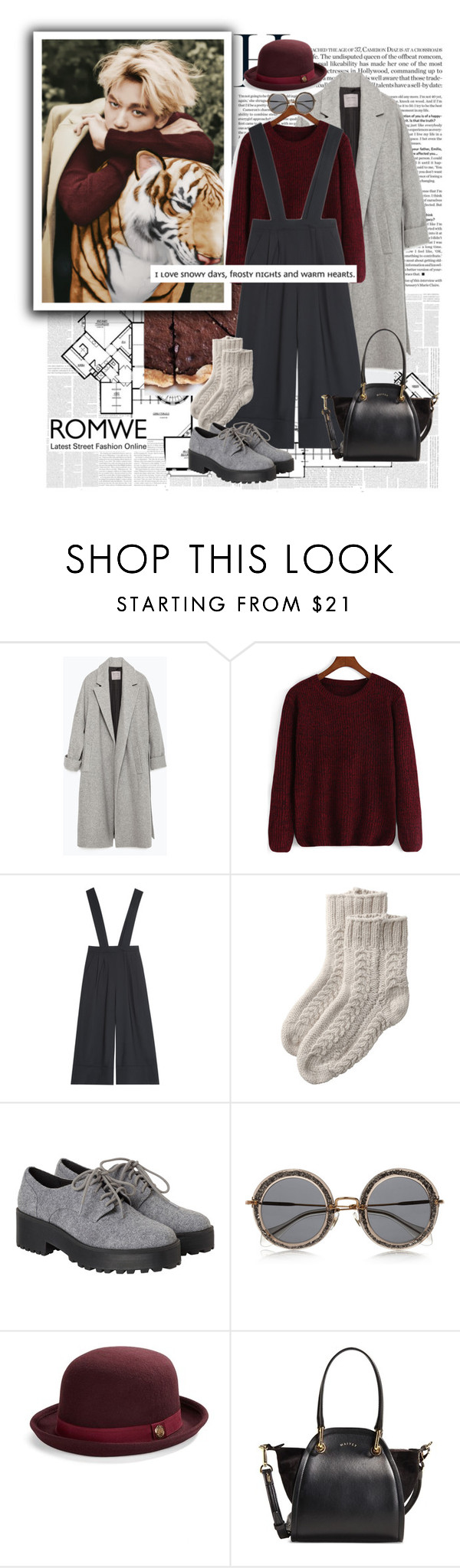 """""""gotta love him"""" by ani-onni ❤ liked on Polyvore featuring Zara, TIBI, Toast, Monki, Miu Miu, Vince Camuto and Maiyet"""