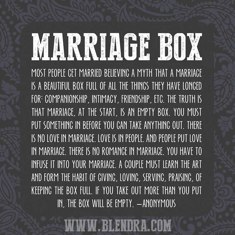 Quotes Of Marriage Life: Best 25+ Marriage Box Ideas On Pinterest