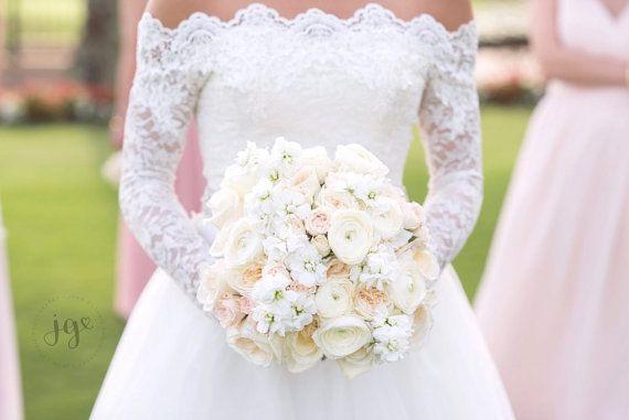 Hochzeitssuite Spitzen Bolero Off-Schulter / von UpToDateFashion