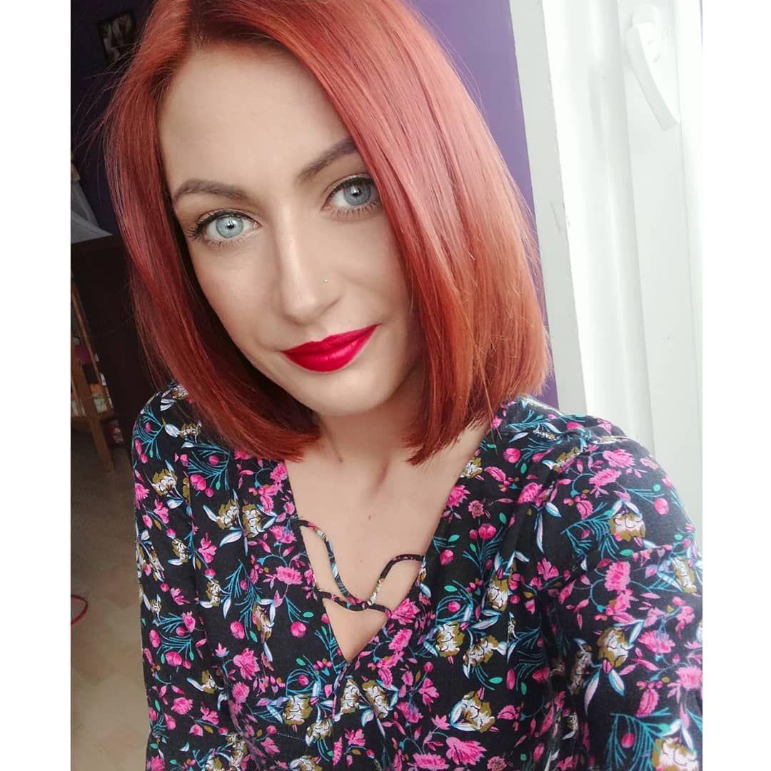 Redhair Redlips Redhead Blueeyes Me Selfie Ginger