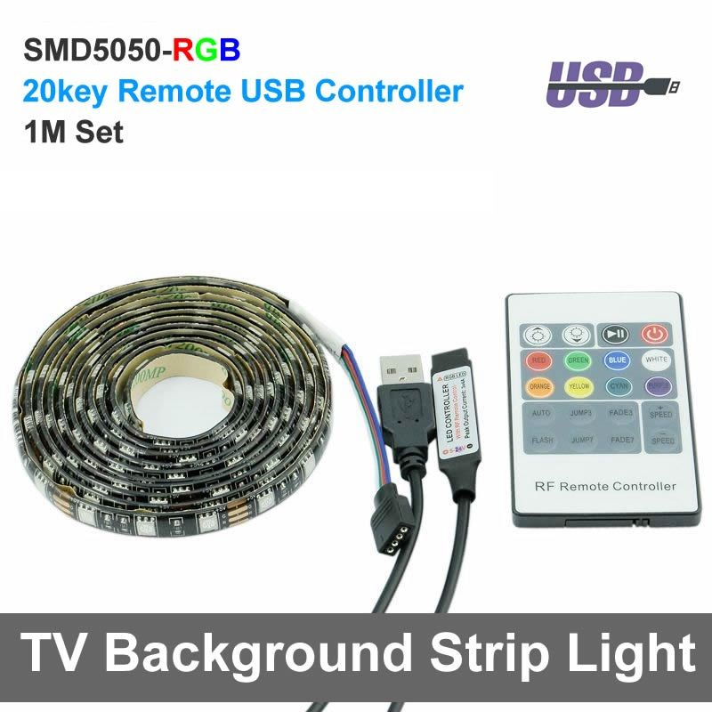 Usb rgb led strip light 1m dc5v 5050 waterproof rgb flexible tv usb rgb led strip light 1m dc5v 5050 waterproof rgb flexible tv background lighting strip with aloadofball Choice Image