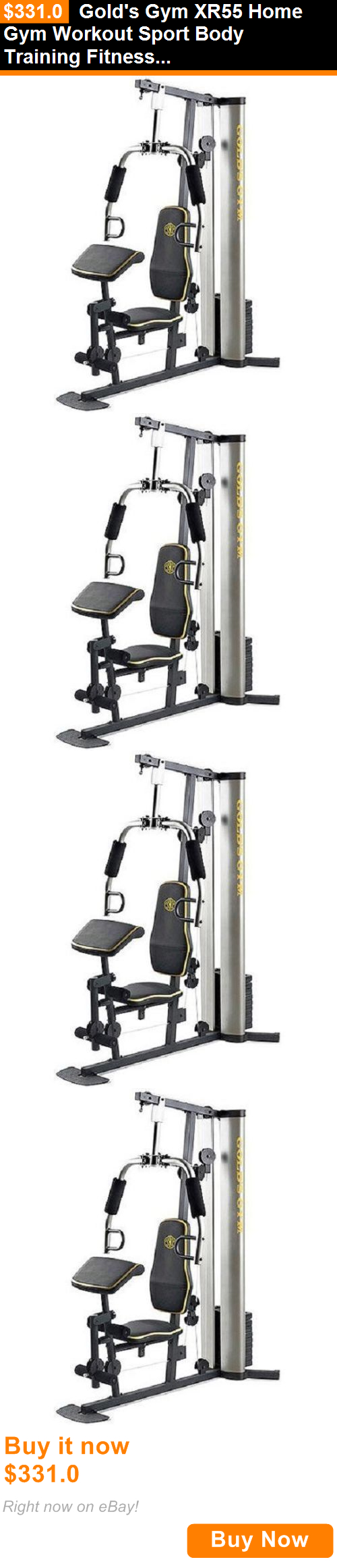 Home Gyms 158923 Golds Gym Xr55 Home Gym Workout Sport Body Training Fitness All In One Strength Buy It Now Only 331 At Home Gym Gym Workouts Body Training