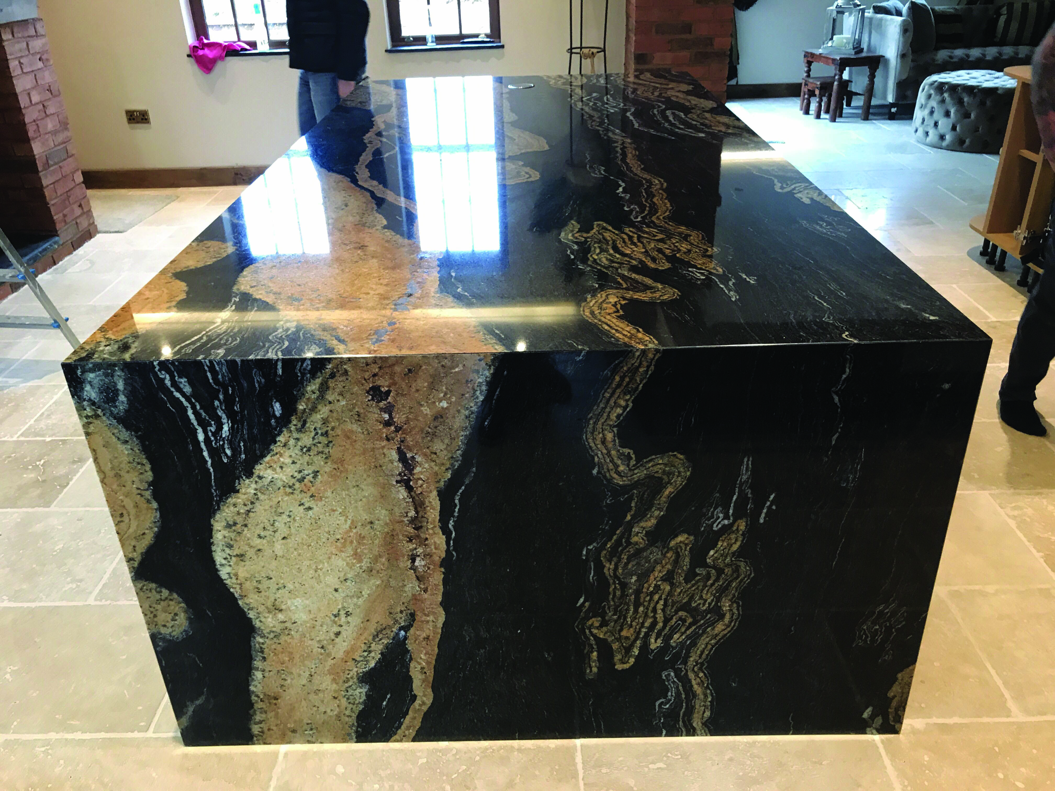 15 Stunning Granite Top Dining Room Tables Granite Dining Table