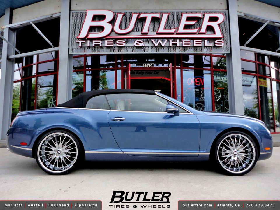 Bentley Gtc Speed With 22in Savini Bs5 Wheels Luxury Cars Luxury Convertible
