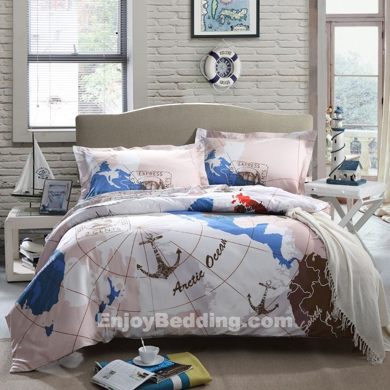 Nautical Style Teen And Bedrooms: Nautical Bedding Sets - EnjoyBedding.com