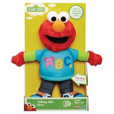 Playskool Friends Sesame Street Talking Abc Elmo Figure Products