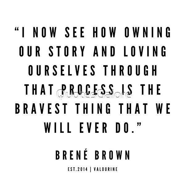 17    Brene Brown Quotes   190524 by QuotesGalore   Redbubble