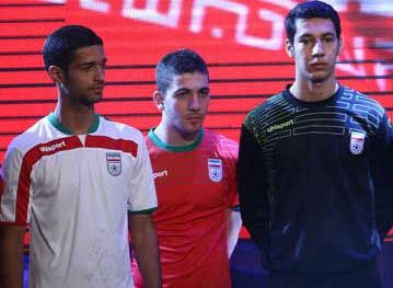 Iran 2014 World Cup uhlsport Home and Away Kits 5d87dc563