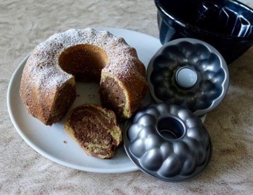Marmorierter Kokosgugelhupf - Rezept - ichkoche.at