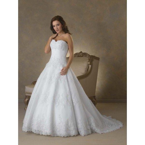 Empire Waist Princess Wedding Dresses