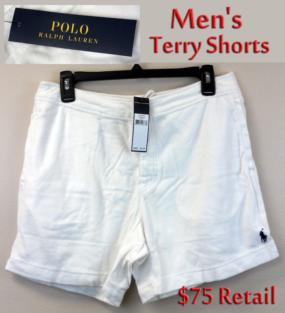 $29.99 Free EXP Ship Polo Ralph Lauren Men's Terry Cloth Shower ...