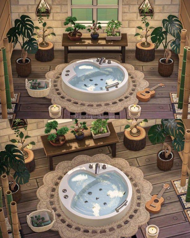 A peaceful bathroom 🌿