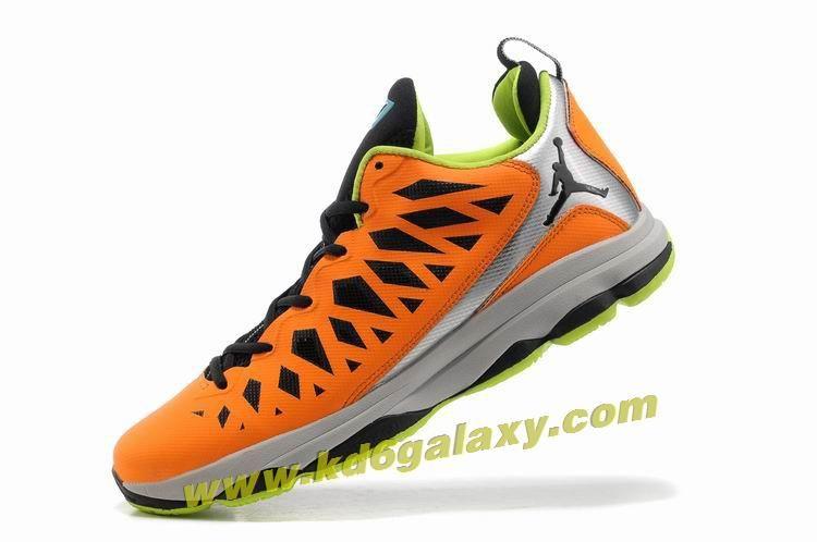 Jordan CP3.VI Total Orange Black Stealth Atomic Green 535807 800 CP3 Shoes 2013