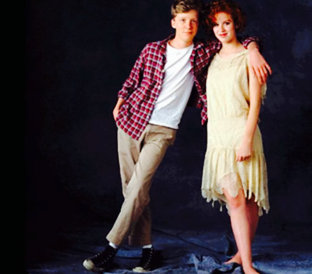 Anthony Michael Hall & Molly Ringwald (1985) | 7EVENTIES ...