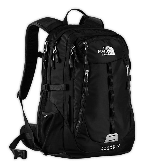 8d156912c Surge backpack | Bags | Backpacks, Black backpack, The north face