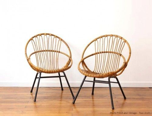 Afficher Limage Dorigine 의자 디자인 Pinterest - Fauteuil rotin rond