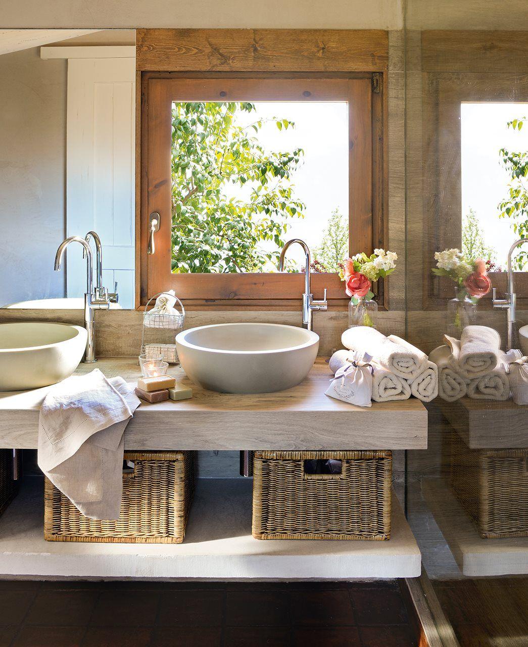 3 ba os peque os con ducha muy bien resueltos elmueble for Banos muy pequenos modernos