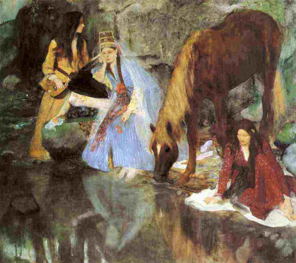 A4 Photo Degas Edgar Mlle Fiocre in the Ballet The Source 1867 Print Poster