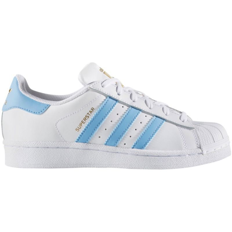 ADIDAS Kids' Grade School Superstar Casual Shoes White