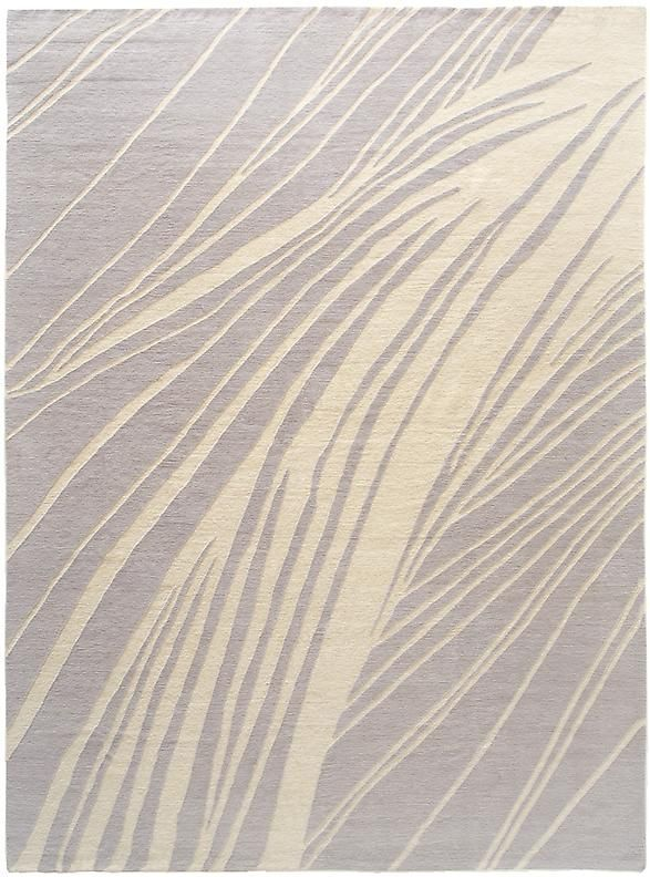 Straw Lavender Himalayan Wool Rugs Carpets Modern Home