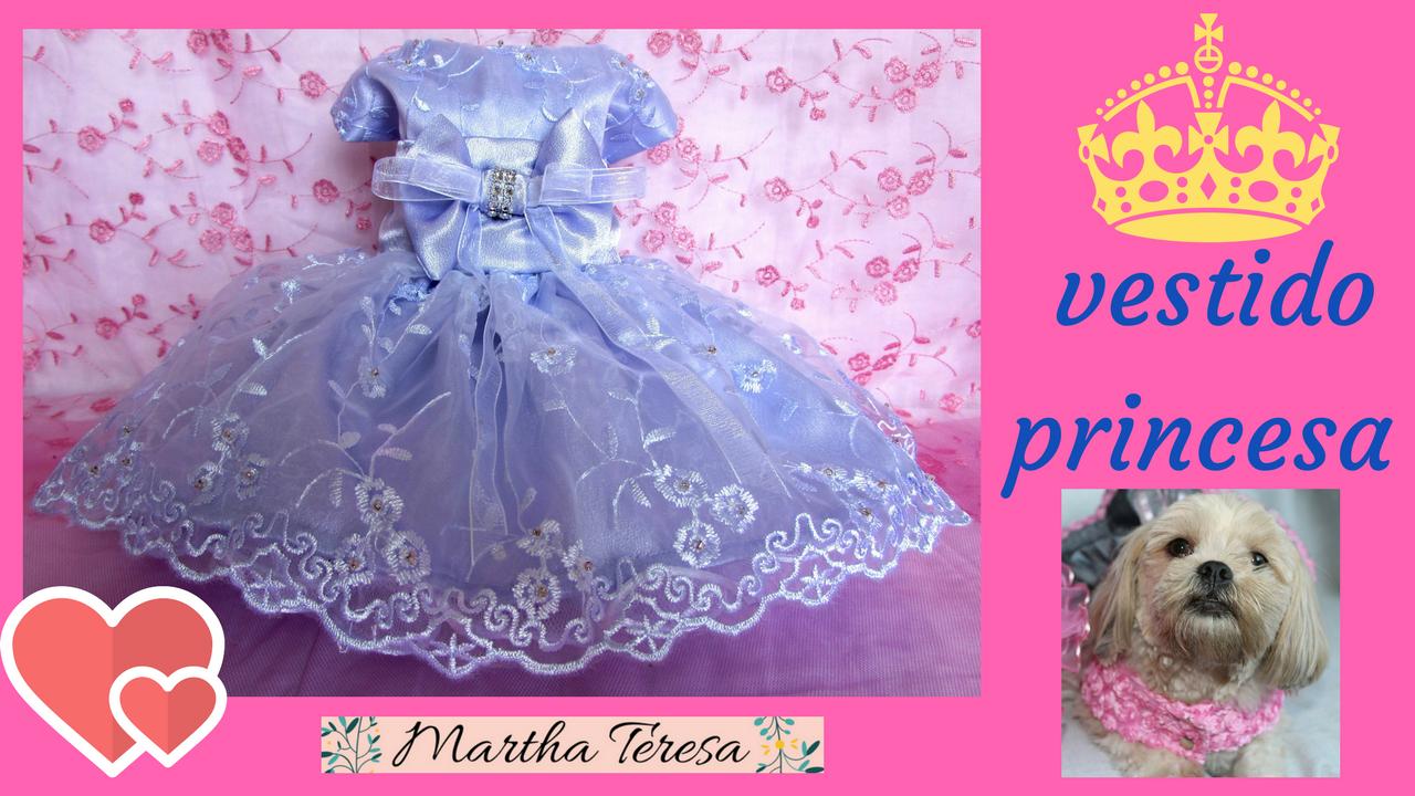 Vestido Princesa para Chihuahua. Martha Teresa. | Martha Teresa ...