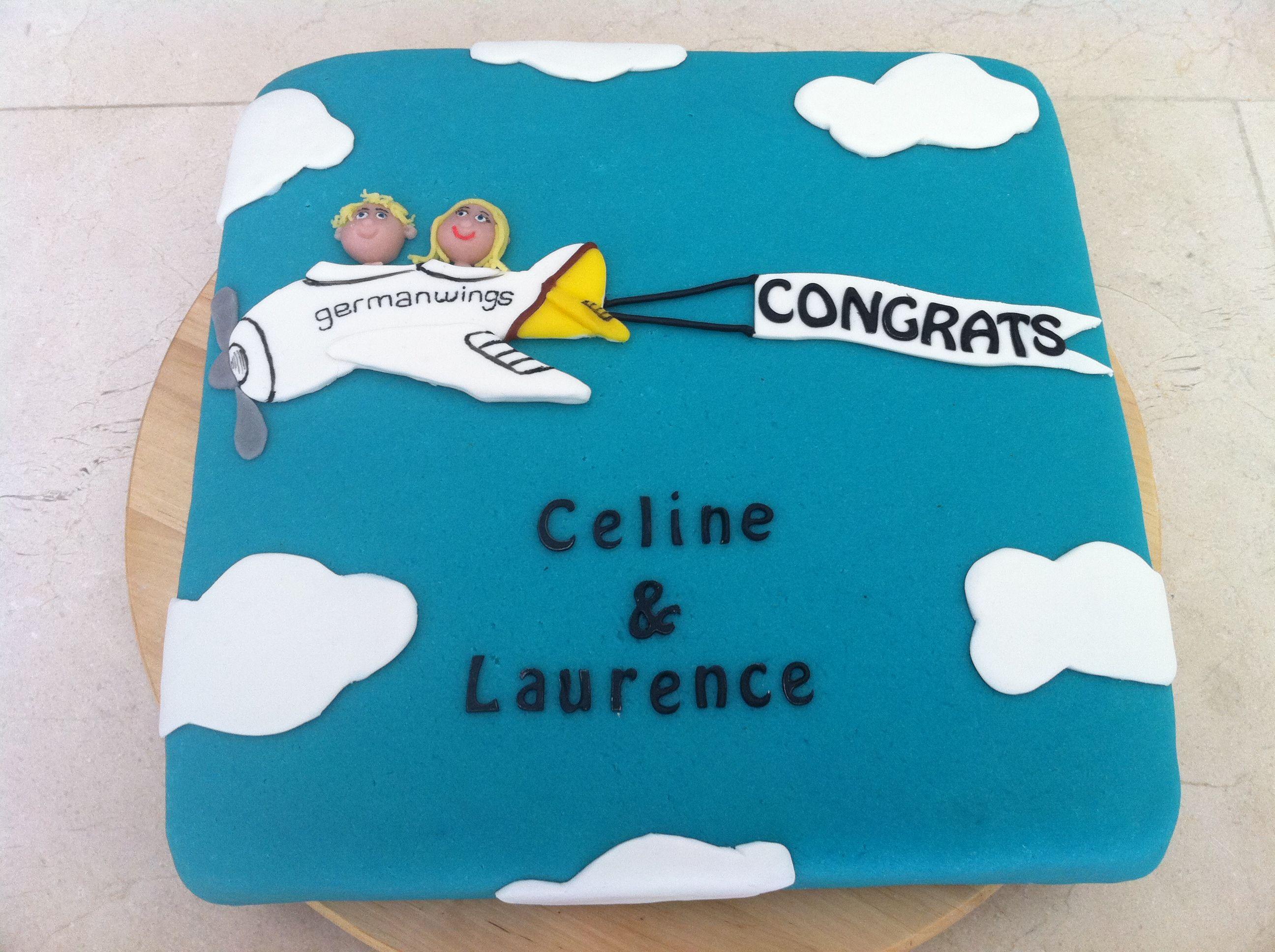 Design Per Tutti Com airplane goodbye cake - torte per tutti | bon voyage cake