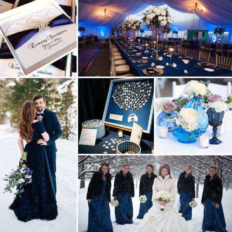Navy Peony — Colores para boda de invierno #MásQ1Boda ...