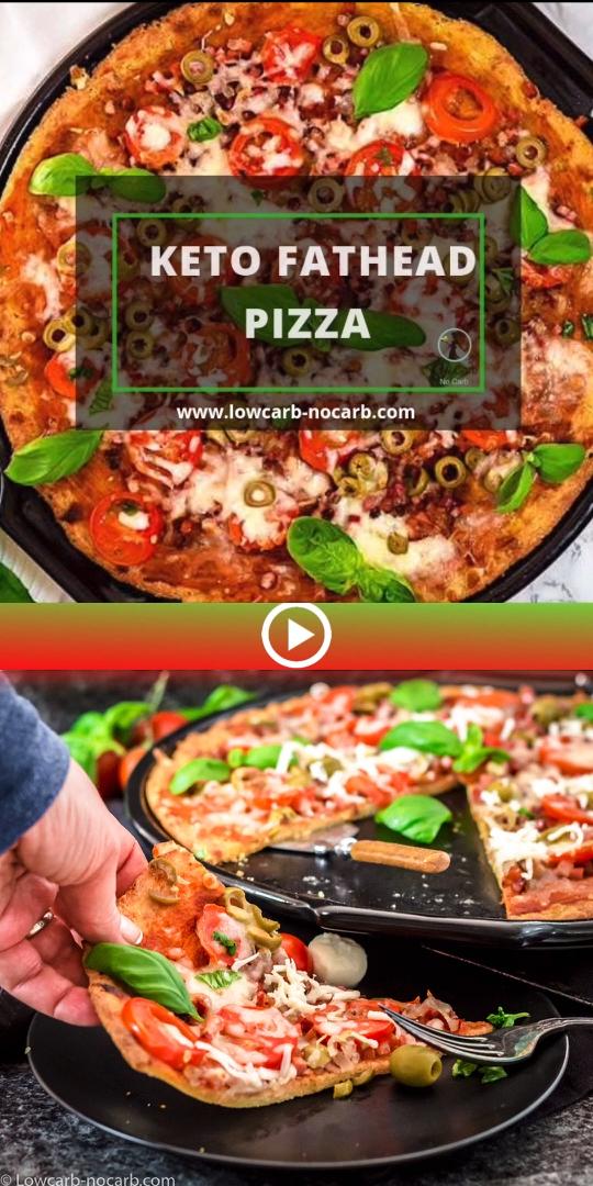 The perfect Keto Fathead Pizza Crust will make the immediate decision to serve this Keto Pizza over
