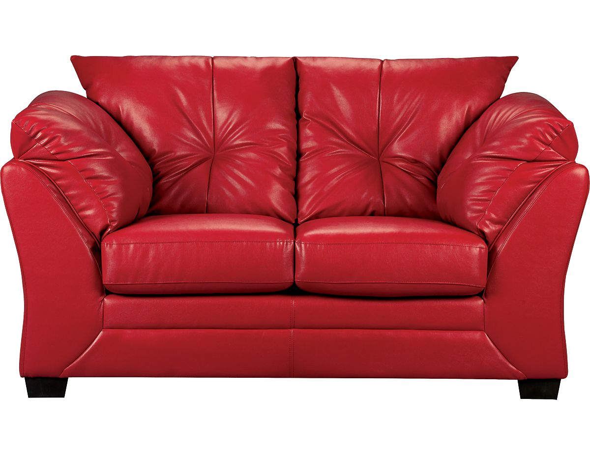 Max Faux Leather Loveseat Red Maxr L The Brick Leather Couch Faux Leather Couch Faux Leather Sofa