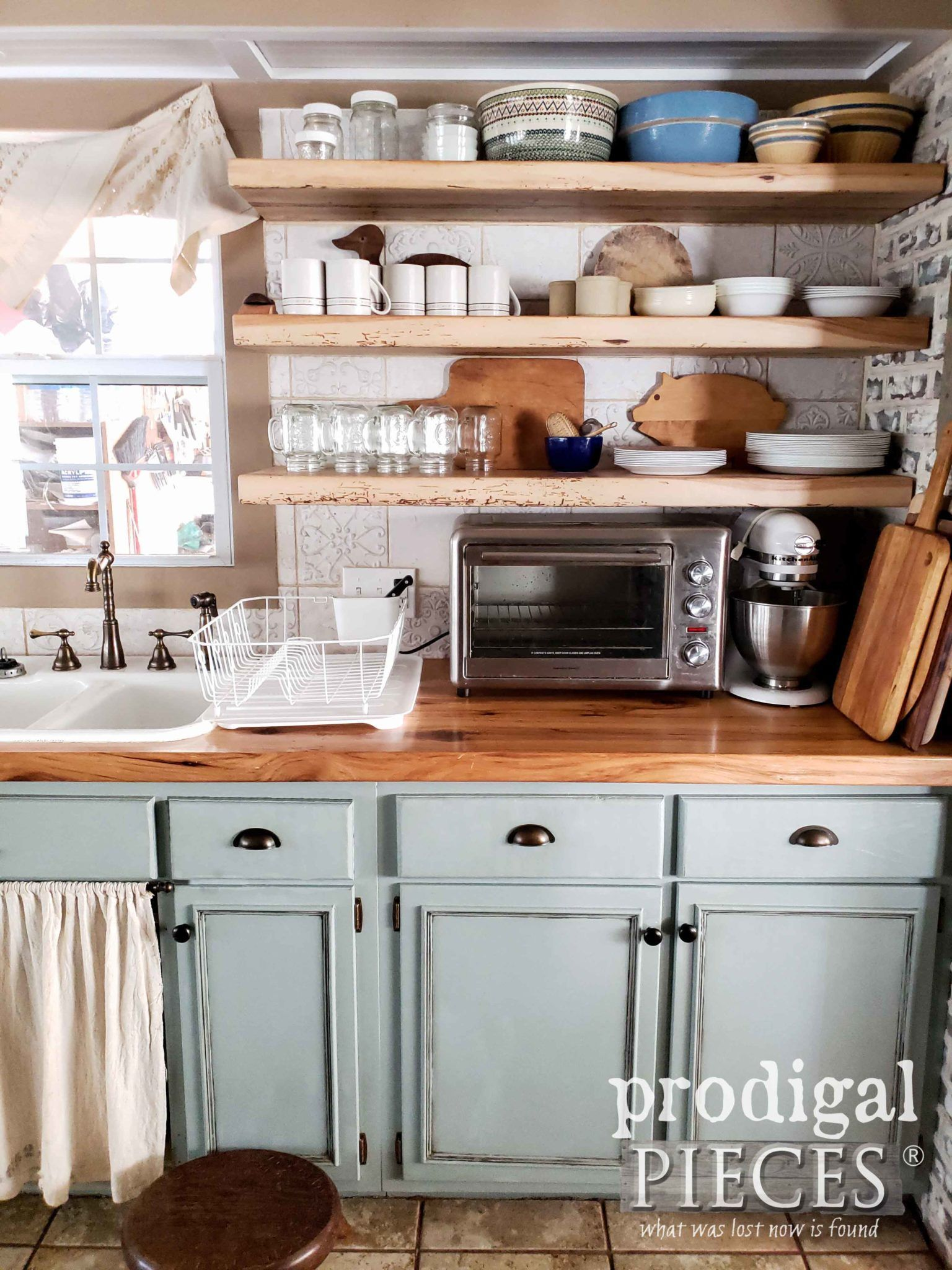 Farmhouse Kitchen Remodel Reveal Prodigal Pieces Budget Kitchen Remodel Kitchen Remodel Layout Kitchen Remodel Small