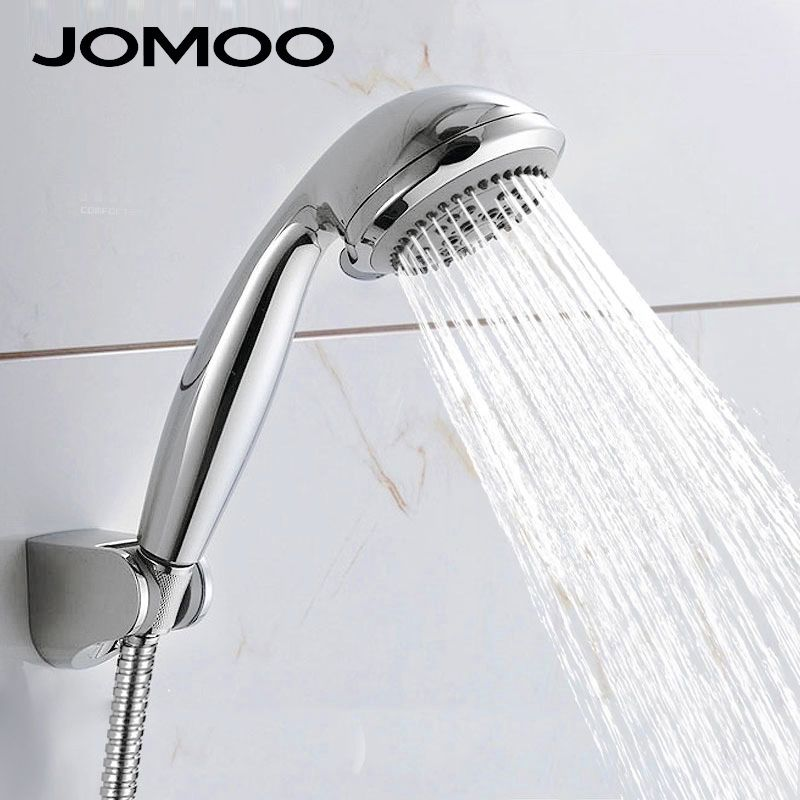 Shower Head Abs Chrome Bathroom
