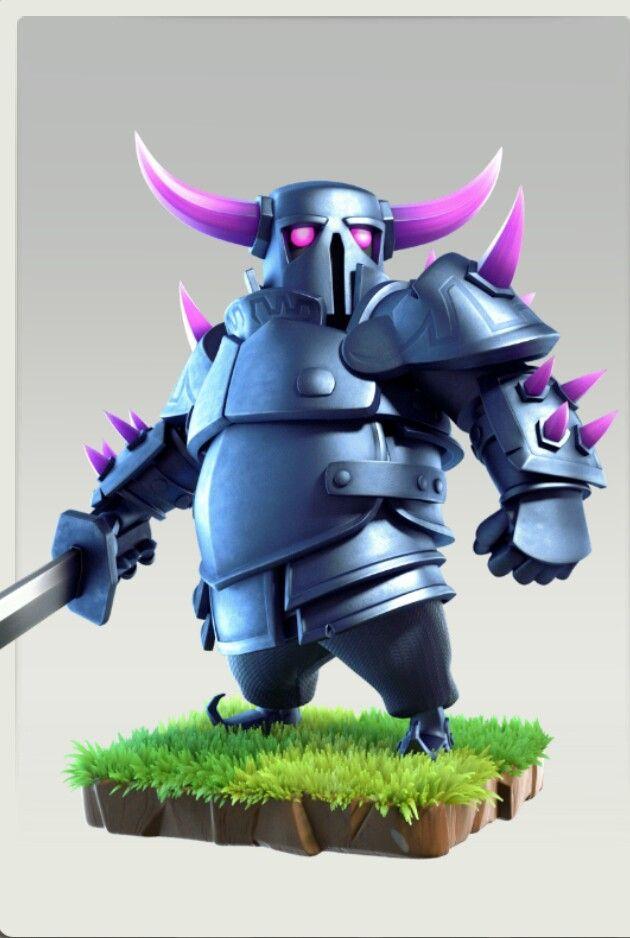 Pekka Clash Royale Clas Of Clan Clash Of Clans