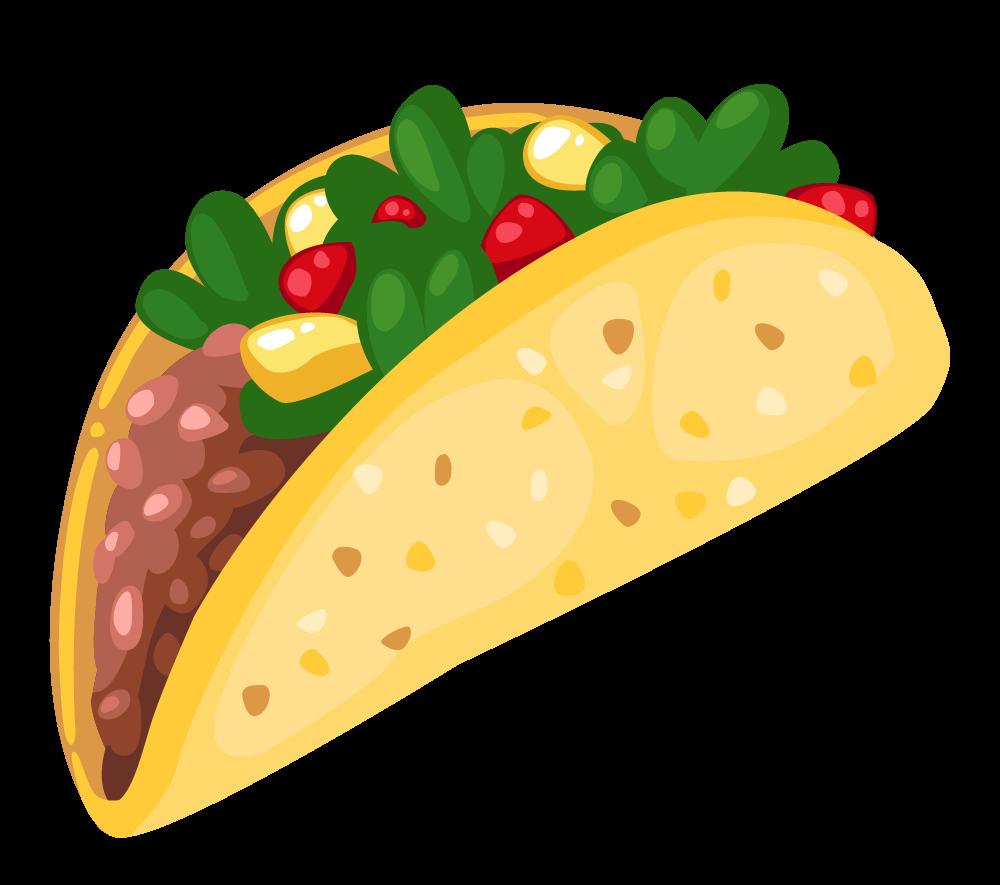 Cartoon Taco Clip Art 3 Clipartcow Taco Clipart Taco Images Food Clips