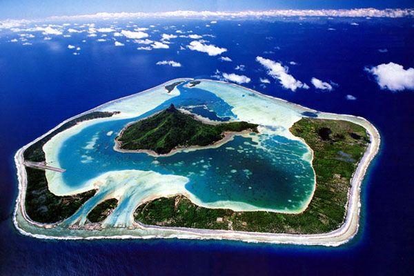 Maupiti Island French Polynesia. Paradise on Earth