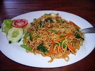 Resep Mie Goreng Cara Membuat Mie Goreng Enak Resep Masakan Indonesia Mie