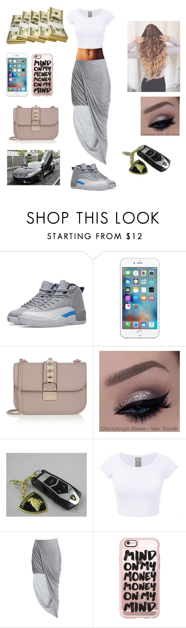 """""""Untitled #58"""" by tbfh-mehh ❤ liked on Polyvore featuring NIKE, Valentino and Casetify"""