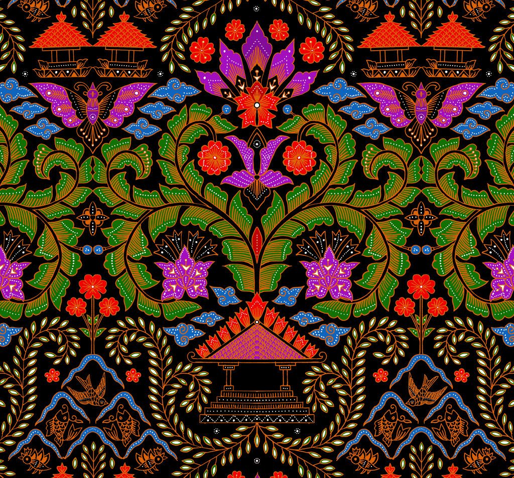 Batik Design, Indonesian Batik, Batik