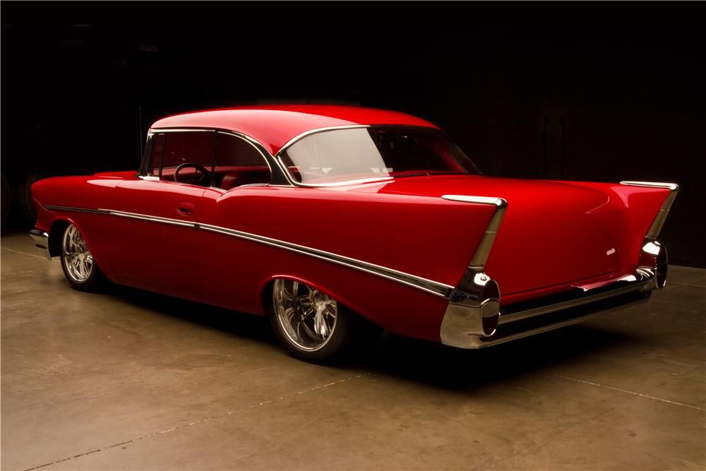 This Is A One Of A Kind 57 300k Invested In Remod Custom Chassis 427 Nice Car Exceptional Paint Chevrolet Bel Air Classic Cars Chevy